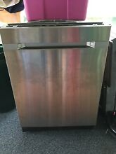 SAMSUNG DW80M9550US 24in  Waterwall Dishwasher Stainless Steel