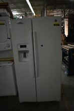 GE GSS25GGHWW 36  White Side By Side Refrigerator NOB  43237 HRT