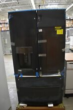 GE GFD28GBLTS 36  Black Stainless French Door Refrigerator NOB  43409 HRT