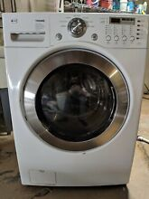 LG WM2277HW Front loading Washer 3 32 cu  ft