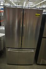 GE GNE27JSMSS 36  Stainless French Door Refrigerator  43652 HRT