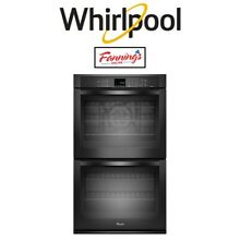 Whirlpool WOD93EC0AB 30  Double Electric Wall Oven Black True Convection 10 cu f