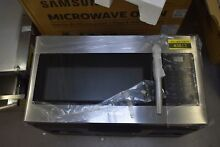 Samsung ME16H702SES 30  Stainless Over The Range Microwave NOB  43813 HRT