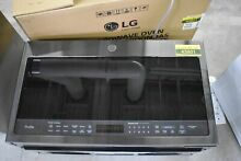 GE PVM9005BLTS 30  Black Stainless Over The Range Microwave NOB  43801 HRT