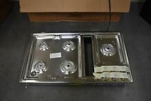 KitchenAid KCGD506GSS 36  Stainless Gas Downdraft Cooktop NOB  43835 HRT