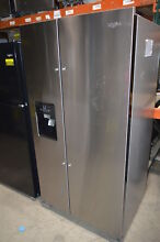Whirlpool WRS325SDHZ 36  Stainless Side by Side Refrigerator NOB  23484