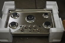 GE Cafe CGP9530SLSS 30  Stainless Gas Cooktop NOB  36889 MAD