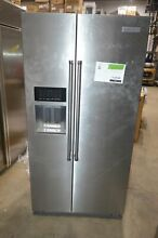 KitchenAid KRSC503ESS 36  Stainless Side by Side Refrigerator CD  18610 MAD