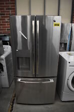 GE GFE24JSKSS 33  Stainless French Door Refrigerator NOB  36591 MAD