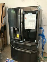 LG LMXC23796D 36  22 5 Counter Depth French Door Refrigerator Black Stainless