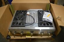 Thermador PCG364GD 36  Stainless Professional Gas Rangetop NOB  31504 MAD