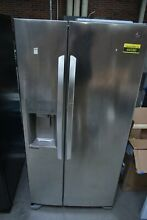 LG LSXS22423S 33  Stainless 22 1 CU FT  Side By Side Refrigerator  44380 HRT