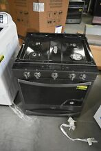 Whirlpool WEG750H0HV 30  Black Stainless Slide In Gas Range NOB  44360 HRT