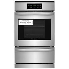 Frigidaire FFGW2426US 24  Stainless Steel Single Gas Wall Oven w  Vari Broil