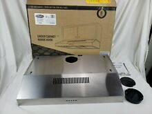 Cosmo 5U30 30 in Under Cabinet Range Hood 250 CFM with Ducted  Ductless Top  LED
