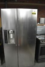 LG LSXS26326S 36  Stainless Side By Side Refrigerator NOB  44583 HRT