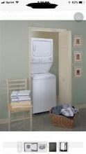 GE Washer  GAS  Dryer Combo Laundry Center GTUN275GMWW   White   Gently Used