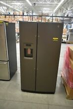 GE GSS25GMHES 36  Slate Side By Side Refrigerator NOB  39777 CLN