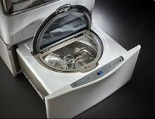 Kenmore Elite 51972 27  Wide Pedestal Washer   White