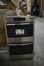 GE JT3500SFSS 30  Stainless Double Electric Wall Oven NOB  37947 HRT