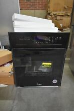 Whirlpool WOS11EM4EB 24  Black Electric Single Wall Oven NOB  45223 HRT