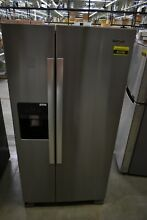 Whirlpool WRS321SDHZ 33  Stainless Side By Side Refrigerator  45346 HRT