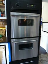 EUC GE JRP28SK1SS 24  Stainless Double Electric Wall Oven PU Austin