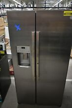 GE GZS22IYNFS 36  Stainless Side By Side Refrigerator  45653 HRT