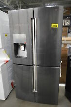Samsung RF22K9381SG 36  Black Stainless French 4 Door Refrigerator  33347 MAD