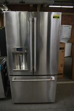 GE Cafe CYE22UP2MS1 36  Stainless French Door Refrigerator CD NOB  45885 HRT
