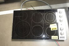 Viking VEC5366BSB 36  Stainless Smoothtop Electric Cooktop NOB  32159 CLW