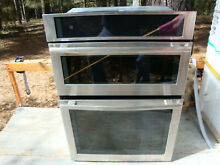 Jenn Air JMW2430DS02 microwave wall oven combination