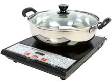 Induction Cooker 1500 W with  Pot Safe Energy Efficient Precise Cooking Control