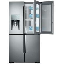 Samsung Stainless Steel 28 cf 4 Door Flex Food Showcase Refrigerator RF28K9380SR