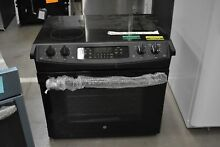 GE JD630DFBB 30  Black Drop In Electric Range NOB  43672 HRT