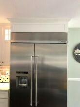 KitchenAid  KBSD608ESS  48  Stainless Steel Built in Refrigerator with Ice Maker
