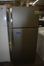 GE GTE18GMHES 28  Slate Top Freezer Refrigerator NOB  38175 HRT
