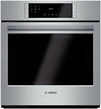 Bosch HBN8451UC 27  Stainless Electric Single Wall Oven NOB  45908 HRT