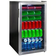 125 CAN BEVERAGE MINI FRIDGE 3 cubic fe