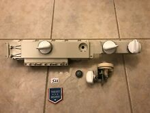 Washer Control Board with Knobs 175D4490G014 W Extra Part 175D2290P0