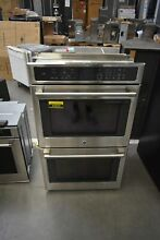 GE CT9550SHSS 30  Stainless Double Electric Wall Oven NOB  44557 HRT