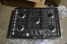GE Profile  PGP959SETSS 30  Stainless 5 Burner Gas Cooktop NOB   34545 CLW
