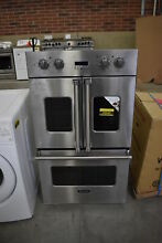 Viking VDOF730SS 30  Stainless Double Electric French Oven NOB  42045 MAD