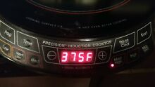 NuWave Precision Induction Cooktop Tested Works Great Ships fast   Free