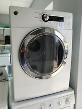 GE DCVH480EK0WW 24  White Front Load Electric Dryer  local pick up only