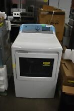GE GTD84GCSNWS 27  White Front Load Gas Dryer NOB  48627 HRT