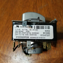 GE Dryer Timer 572D520P036 with Knob