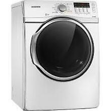 Samsung DV431AGW 27  White Front Load Gas Dryer 7 4 Cu Ft  NIB  8497 8505