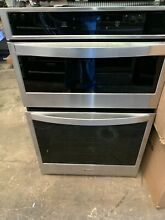 Whirlpool 27  Smart Wall Oven Microwave Combo WOC54EC7HS NOB Stainless Steel