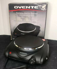 Ovente Infrared Burner Ceramic Glass Electric Single Hot Plate Stove Stainless